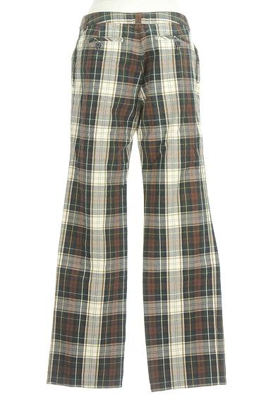 SM2(サマンサモスモス)の古着「チェック柄ストレートパンツ(パンツ)」大画像2へ