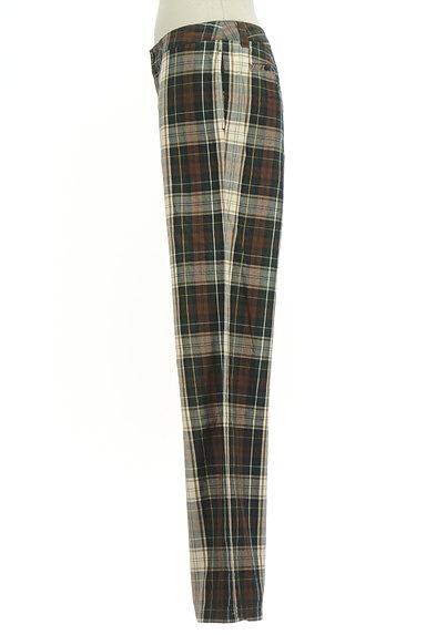 SM2(サマンサモスモス)の古着「チェック柄ストレートパンツ(パンツ)」大画像3へ