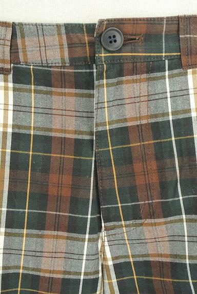 SM2(サマンサモスモス)の古着「チェック柄ストレートパンツ(パンツ)」大画像4へ