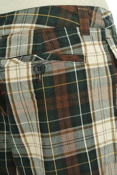 SM2(サマンサモスモス)の古着「チェック柄ストレートパンツ(パンツ)」大画像5へ