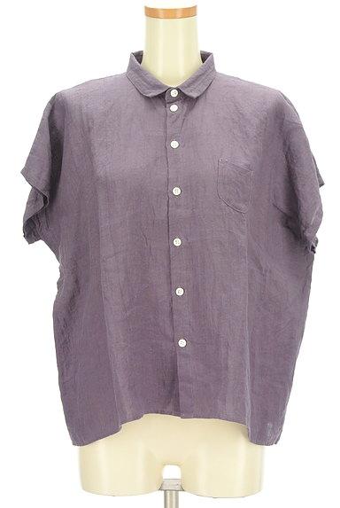style+confort(スティールエコンフォール)の古着「ドルマンリネンシャツ(カジュアルシャツ)」大画像1へ