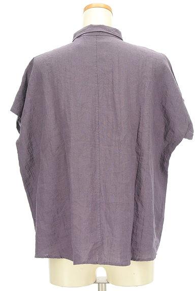 style+confort(スティールエコンフォール)の古着「ドルマンリネンシャツ(カジュアルシャツ)」大画像2へ