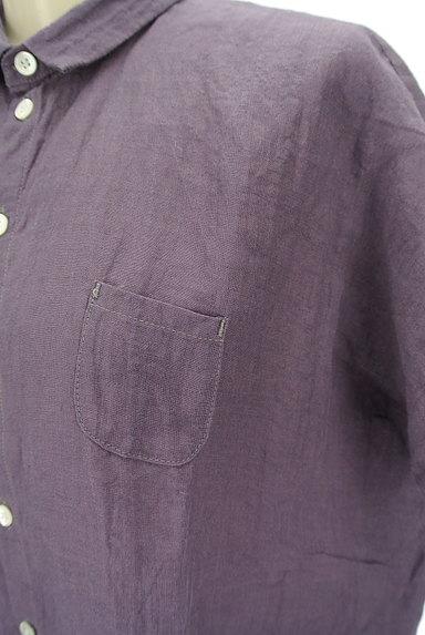 style+confort(スティールエコンフォール)の古着「ドルマンリネンシャツ(カジュアルシャツ)」大画像4へ