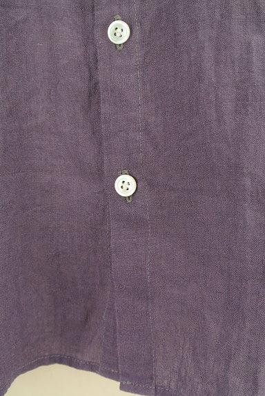 style+confort(スティールエコンフォール)の古着「ドルマンリネンシャツ(カジュアルシャツ)」大画像5へ