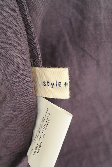 style+confort(スティールエコンフォール)の古着「ドルマンリネンシャツ(カジュアルシャツ)」大画像6へ