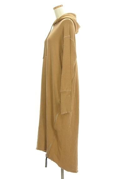 AMERICANA(アメリカーナ)の古着「サイドジップスウェットロングワンピ(ワンピース・チュニック)」大画像3へ