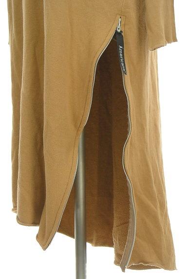 AMERICANA(アメリカーナ)の古着「サイドジップスウェットロングワンピ(ワンピース・チュニック)」大画像5へ