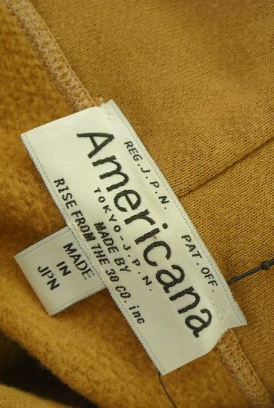 AMERICANA(アメリカーナ)の古着「サイドジップスウェットロングワンピ(ワンピース・チュニック)」大画像6へ