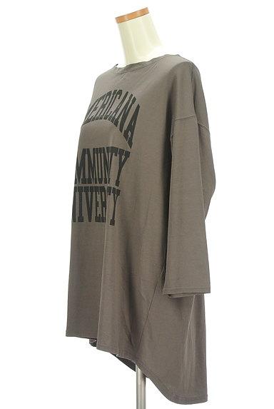 AMERICANA(アメリカーナ)の古着「ロゴロングカットソー(カットソー・プルオーバー)」大画像3へ