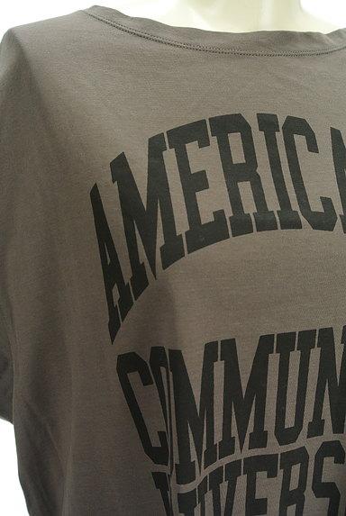 AMERICANA(アメリカーナ)の古着「ロゴロングカットソー(カットソー・プルオーバー)」大画像4へ