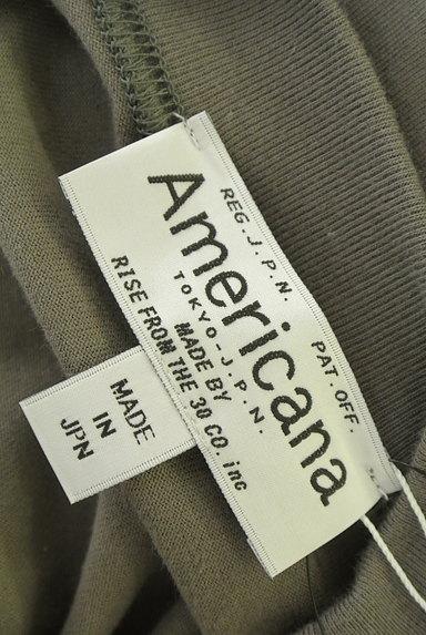AMERICANA(アメリカーナ)の古着「サイドジップロゴプリントワンピース(ワンピース・チュニック)」大画像6へ