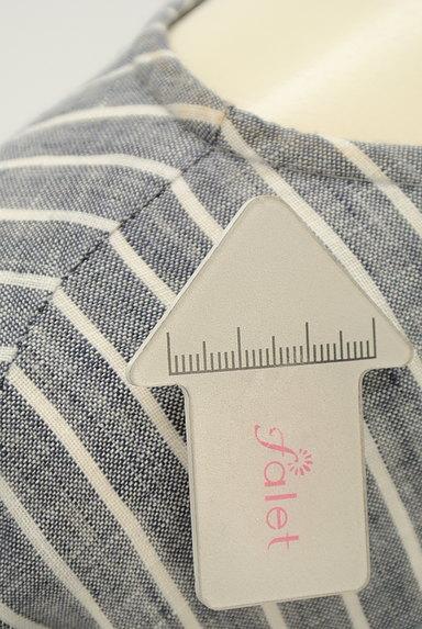 style+confort(スティールエコンフォール)の古着「ストライプリネン2WAYシャツ(カジュアルシャツ)」大画像5へ