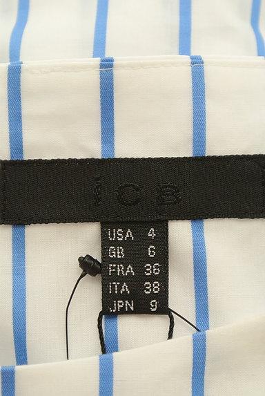 iCB(アイシービー)の古着「ストライプロングシャツカットソー(カットソー・プルオーバー)」大画像6へ