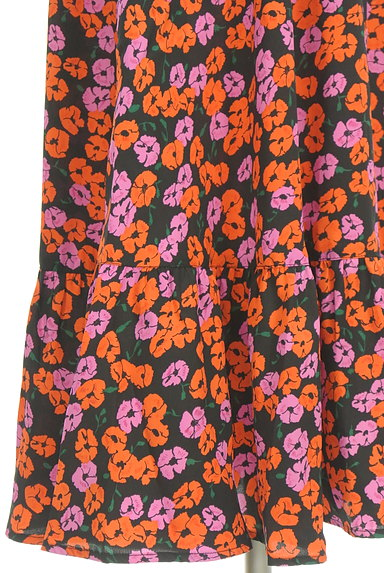 SLY(スライ)の古着「花柄ロングシャツワンピース(ワンピース・チュニック)」大画像5へ