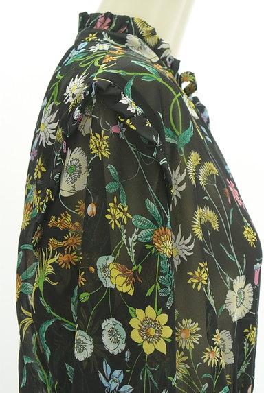 SLY(スライ)の古着「花柄ロングシフォンワンピース(ワンピース・チュニック)」大画像5へ