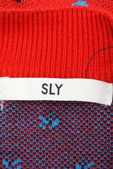 SLY(スライ)の古着「マルチドットレトロニット(ニット)」大画像6へ