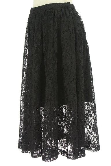 deicy(デイシー)の古着「裾シアー総レースフレアスカート(スカート)」大画像3へ
