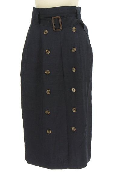 FREE'S MART(フリーズマート)の古着「ボタンデザインハイウエストタイトスカート(ロングスカート・マキシスカート)」大画像1へ