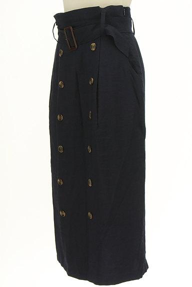 FREE'S MART(フリーズマート)の古着「ボタンデザインハイウエストタイトスカート(ロングスカート・マキシスカート)」大画像3へ