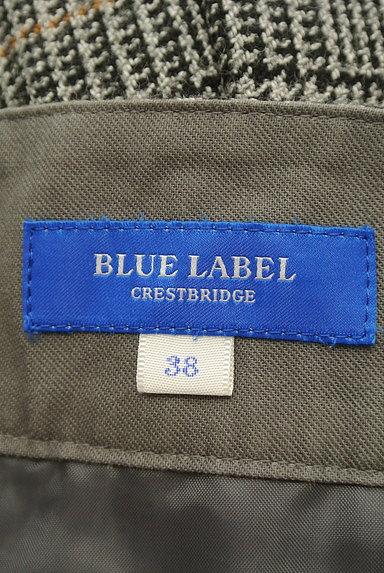 BLUE LABEL CRESTBRIDGE(ブルーレーベル・クレストブリッジ)の古着「チェック柄ボックスプリーツガウチョパンツ(パンツ)」大画像6へ