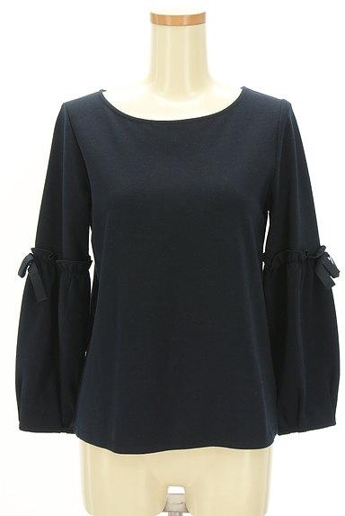 Couture Brooch(クチュールブローチ)の古着「袖リボン切替カットソー(カットソー・プルオーバー)」大画像1へ