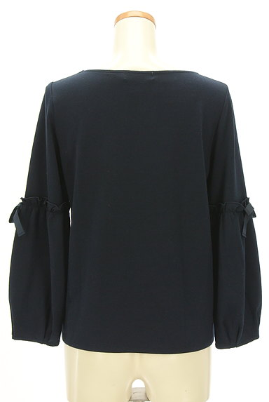 Couture Brooch(クチュールブローチ)の古着「袖リボン切替カットソー(カットソー・プルオーバー)」大画像2へ