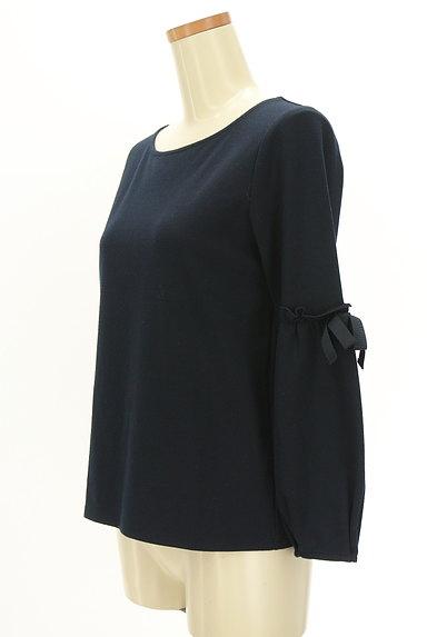 Couture Brooch(クチュールブローチ)の古着「袖リボン切替カットソー(カットソー・プルオーバー)」大画像3へ