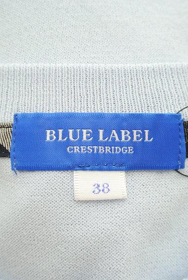 BLUE LABEL CRESTBRIDGE(ブルーレーベル・クレストブリッジ)の古着「サマーニットカーディガン(カーディガン・ボレロ)」大画像6へ