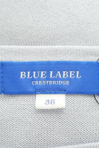 BLACK LABEL CRESTBRIDGE(ブラックレーベル・クレストブリッジ)の古着「チェックフリルパフ袖ニット(ニット)」大画像6へ