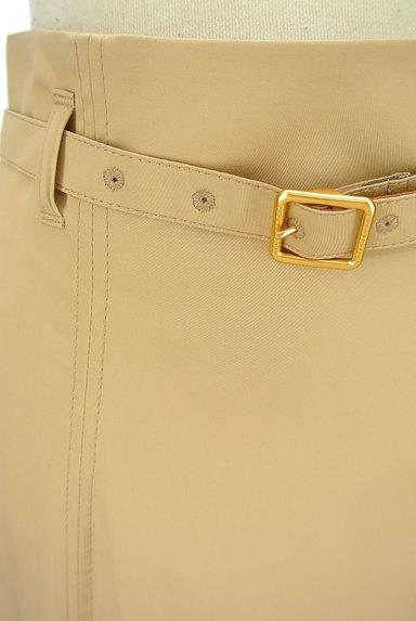 BLUE LABEL CRESTBRIDGE(ブルーレーベル・クレストブリッジ)の古着「ベルト付きチェック柄タックフレアスカート(ロングスカート・マキシスカート)」大画像4へ