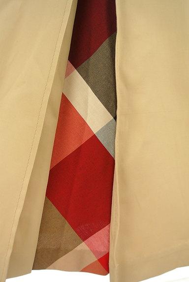 BLUE LABEL CRESTBRIDGE(ブルーレーベル・クレストブリッジ)の古着「ベルト付きチェック柄タックフレアスカート(ロングスカート・マキシスカート)」大画像5へ