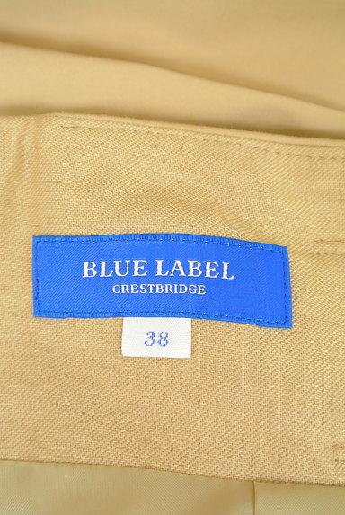 BLUE LABEL CRESTBRIDGE(ブルーレーベル・クレストブリッジ)の古着「ベルト付きチェック柄タックフレアスカート(ロングスカート・マキシスカート)」大画像6へ