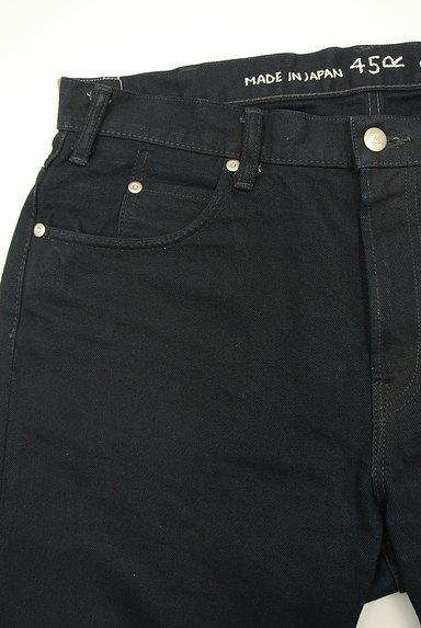 45r(45アール)の古着「インディゴストレートジーンズ(デニムパンツ)」大画像3へ