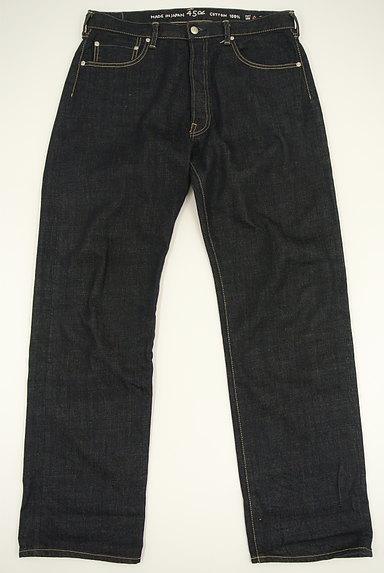 45r(45アール)の古着「インディゴストレートジーンズ(デニムパンツ)」大画像1へ