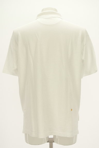 45r(45アール)の古着「ベーシックロングテールポロシャツ(ポロシャツ)」大画像2へ