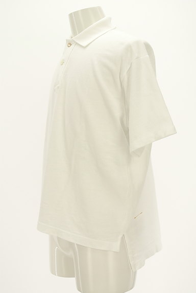 45r(45アール)の古着「ベーシックロングテールポロシャツ(ポロシャツ)」大画像3へ