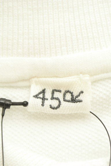 45r(45アール)の古着「ベーシックロングテールポロシャツ(ポロシャツ)」大画像6へ