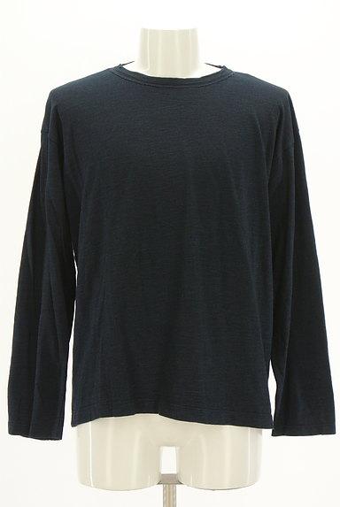 45r(45アール)の古着「上質ベーシック長袖Tシャツ(Tシャツ)」大画像1へ