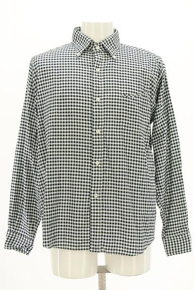 45r(45アール)の古着「ギンガムチェック柄長袖シャツ(カジュアルシャツ)」大画像1へ