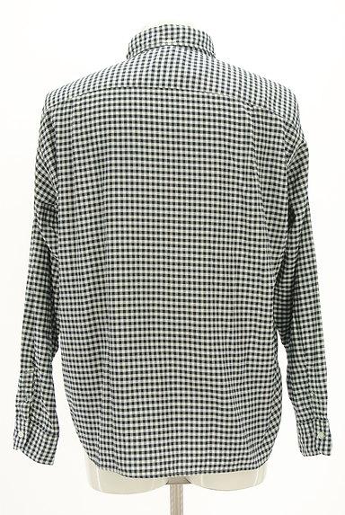 45r(45アール)の古着「ギンガムチェック柄長袖シャツ(カジュアルシャツ)」大画像2へ