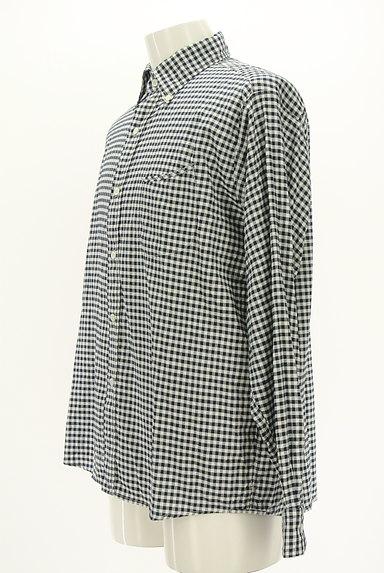45r(45アール)の古着「ギンガムチェック柄長袖シャツ(カジュアルシャツ)」大画像3へ