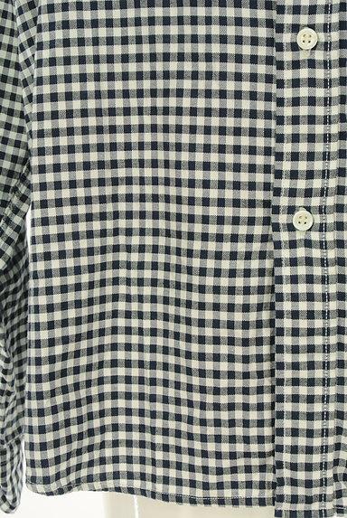 45r(45アール)の古着「ギンガムチェック柄長袖シャツ(カジュアルシャツ)」大画像5へ