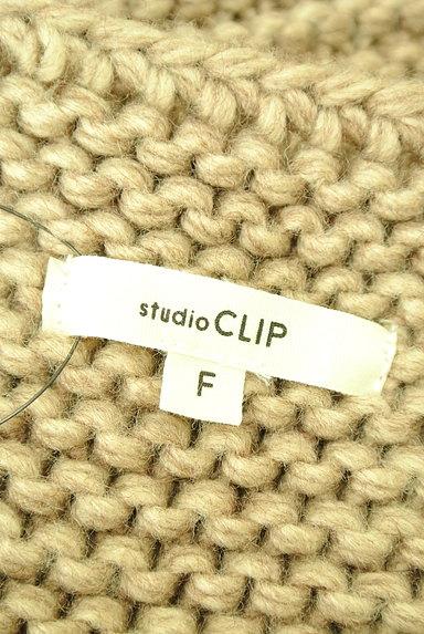 studio CLIP(スタディオクリップ)の古着「ケーブル編みルーズカーディガン(カーディガン・ボレロ)」大画像6へ