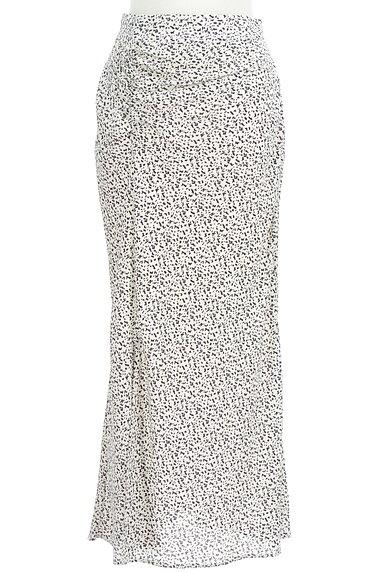 MERCURYDUO(マーキュリーデュオ)の古着「総柄ロングナロースカート(ロングスカート・マキシスカート)」大画像1へ