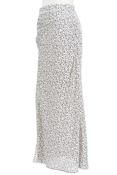 MERCURYDUO(マーキュリーデュオ)の古着「総柄ロングナロースカート(ロングスカート・マキシスカート)」大画像3へ