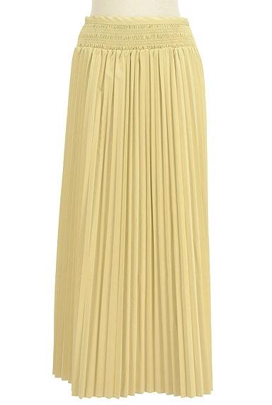 MERCURYDUO(マーキュリーデュオ)の古着「エコレザーロングプリーツスカート(ロングスカート・マキシスカート)」大画像1へ