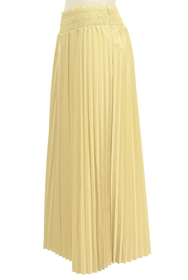 MERCURYDUO(マーキュリーデュオ)の古着「エコレザーロングプリーツスカート(ロングスカート・マキシスカート)」大画像3へ