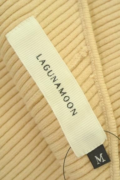 LagunaMoon(ラグナムーン)の古着「変形ネックロングリブニットワンピ(ワンピース・チュニック)」大画像6へ