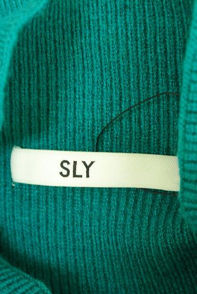 SLY(スライ)の古着「ボリューム袖モックネックニット(ニット)」大画像6へ
