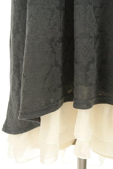 axes femme(アクシーズファム)の古着「バックプリーツ総レースフード付き半袖プルオーバー(カットソー・プルオーバー)」大画像5へ